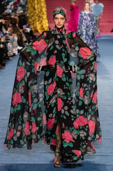 Richard Quinn Fall Ready-To-Wear 2020 на Седмицата на модата в Лондон