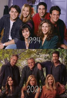 """Любимите ни """"Приятели"""" преди и сега"""
