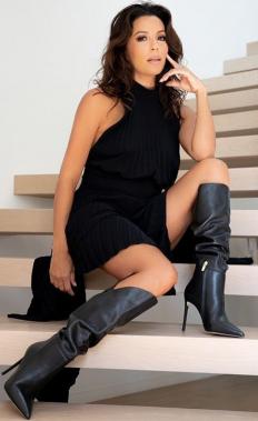 Ева Лонгория е стилна и у дома