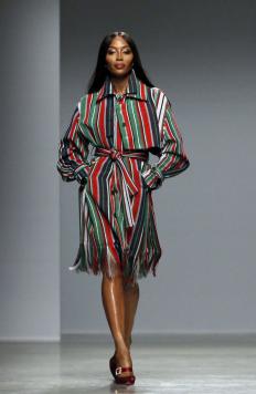 Наоми Кембъл на Седмицата на модата в Париж
