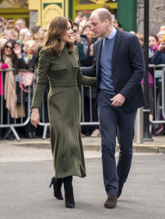 Кейт и Уилям на посещение в Ирландия