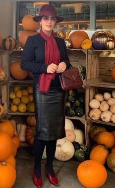 Салма Хайек приветства сезона на тиквата