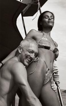 Венсан Касел и Тина Кунаки в Рио де Жанейро