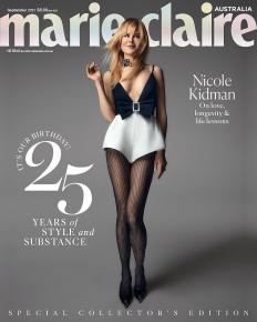 Никол Кидман на корицата на Marie Claire