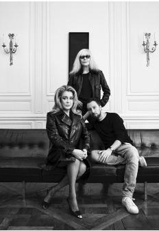 Катрин Деньов, Бети Катру и Антъни Вакарело за T Magazine