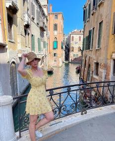 Кейти Пери на почивка във Венеция