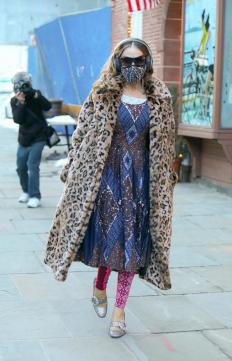 Сара Джесика Паркър по улиците на Ню Йорк