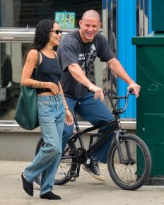 Новата холивудска двойка Зои Кравиц и Чанинг Тейтъм